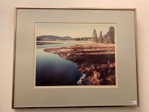 Mountain Landscape Signed and Numbered Framed Photograph