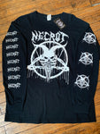 Pre-Loved Necrot The Labyrinth The Abyss Long Sleeve T-Shirt