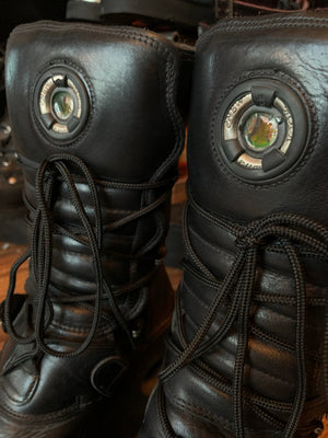 Pre-Loved New Rock Platform Spring Boots