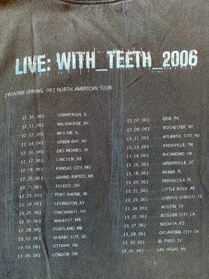 2006 NIN With Teeth Tour Tee