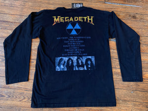 Reprint Megadeth Rust In Peace Longsleeve Tee