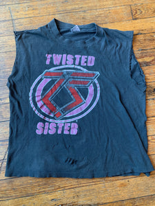 Vintage 80's Twisted Sister You Can't Stop Rock 'n' Roll T-Shirt