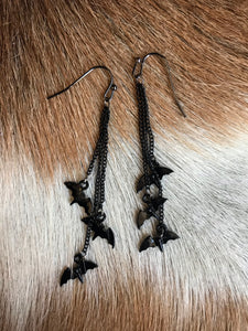 Bat Outta Hell Dangle Earrings