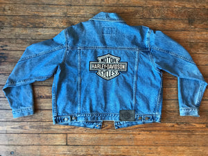 Licensed Harley Davidson Denim Jacket