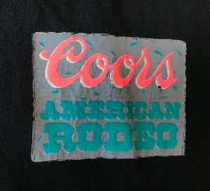 80's Coors Rodeo T-shirt