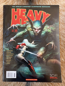 Heavy Metal Magazine Issue #282 Sci-Fi Special