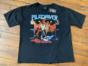 PILEDRIVER Metal Inquisition Tee