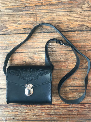 Small Leather Harley Bag