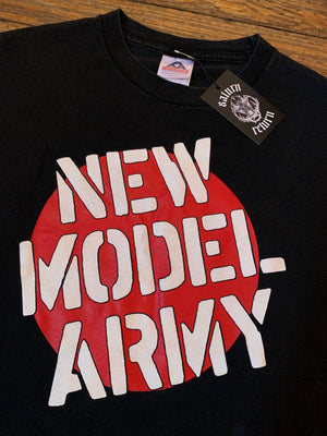 Vintage 2000's New Model Army Logo T-Shirt