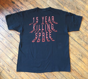 Cannibal Corpse 2005 15 Year Killing Spree T-Shirt