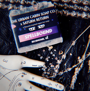 The Urban Cabin Soap Co. x Saturn Return Siouxsie Spellbound Soap Bar