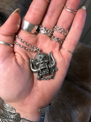 Motörhead Warpig Necklace