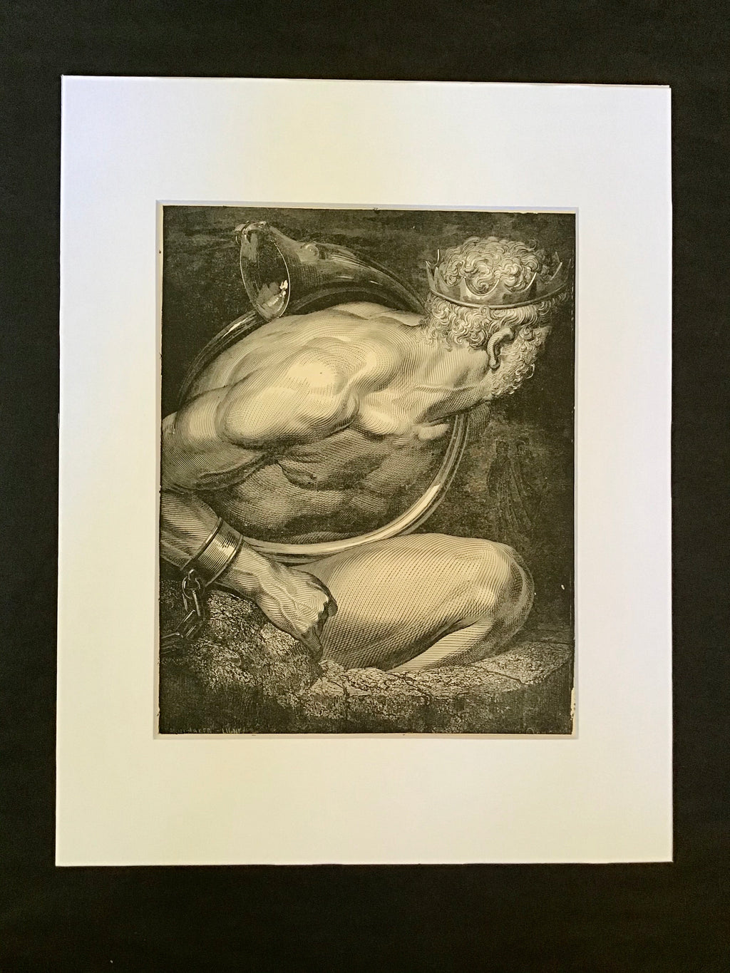 Gustave Doré Matted Print- Canto XXXI Lines 64-66