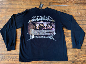 2009 Metallica Death Magnetic Tour Long Sleeve Tee
