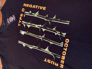 Pre-Loved Type O Negative October Rust T-Shirt