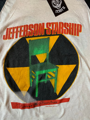 Vintage 1984 Jefferson Starship Tour Raglan Tee