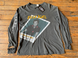 Vintage Absolutely Thrashed Billy Joel 1984 World Tour Long Sleeve Tee