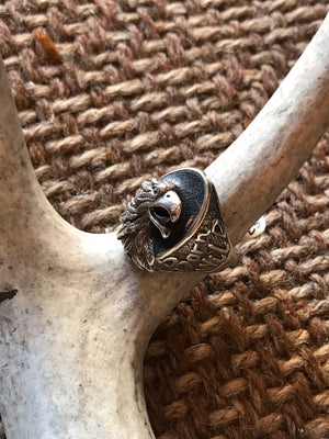 Vintage G&S Born Wild Eagle Ring