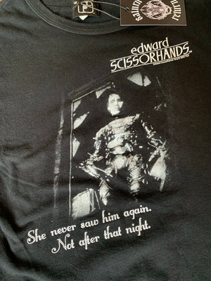 2005 Ripple Junction Official Edward Scissorhands Movie T-Shirt