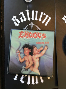 "Exodus ""Bonded by Blood"" Pin"