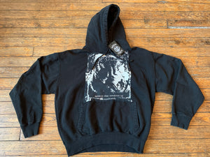 Vintage Sacrilege Behind The Realms of Madness  Patched Hooded Sweatshirt