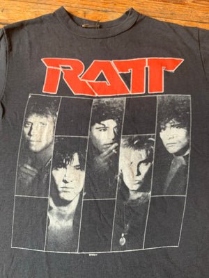 Vintage 1987 Ratt Dancing Undercover World Tour Tee
