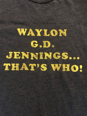 Midnight Rider Waylon G.D. Jennings Tee