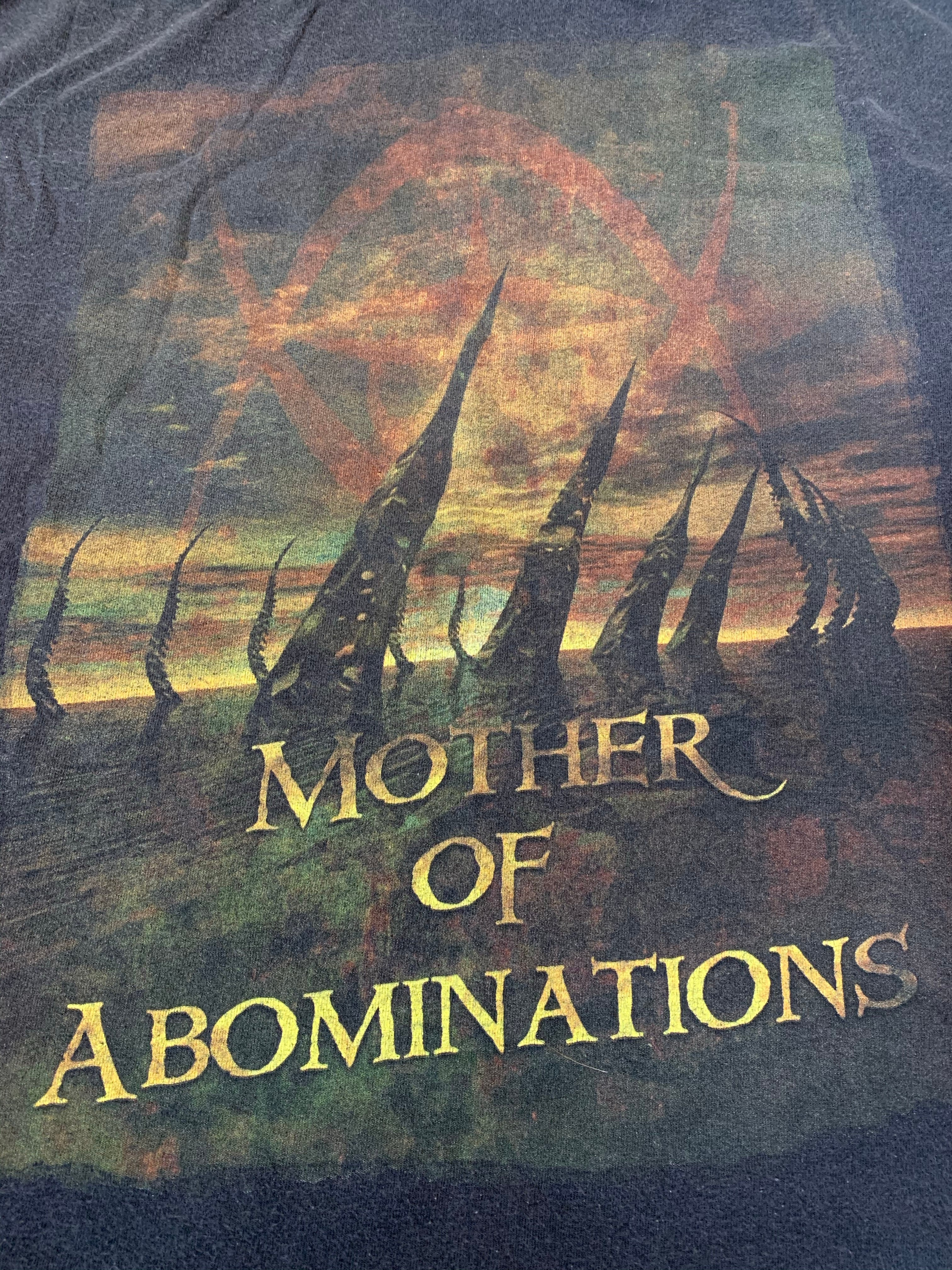 Vintage 2004 Cradle Of Filth Mother of Abominations T-Shirt