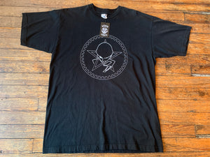 "Vintage 1995 Sisters of Mercy ""Head and Star"" Logo T-Shirt"