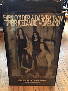 1994 Type O Negative Bloody Kisses Poster