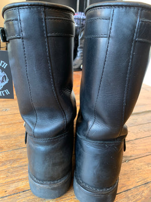 Black Red Wing Harness Boots