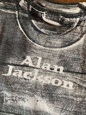 Vintage All Over Print Alan Jackson Tee