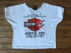'91 Ladies Harley Crop Top