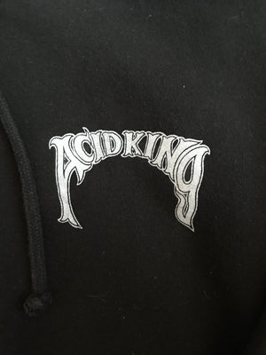 Acid King Wizard Zip- Up Hooded Sweatshirt