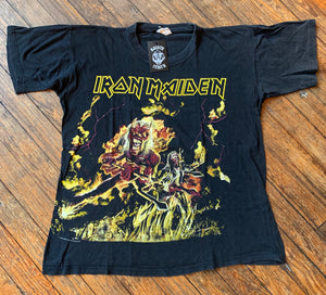 Vintage 80's/90's Iron Maiden Hallowed Be Thy Name Tee