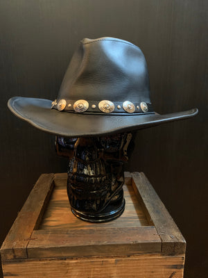 Wilson's Leather Concho Cowboy Hat