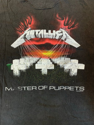 Vintage 1987/1991 Customized Metallica Master of Puppets T-Shirt