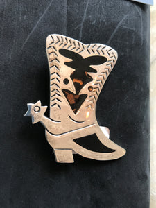 Big Ole Boot Brooch/Pendant