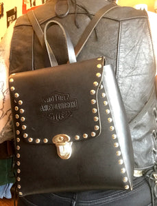 Leather Mama Harley Backpack