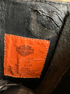 Harley-Davidson 90's Zip Up Boot