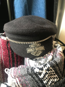 Wool Harley Riding Cap