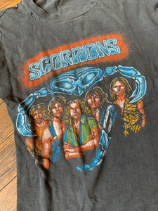 Vintage Super Bootleg Scorpions Band T-Shirt