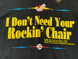 """I Don't Need Your Rockin' Chair"" George Jones Opry Land Tee"
