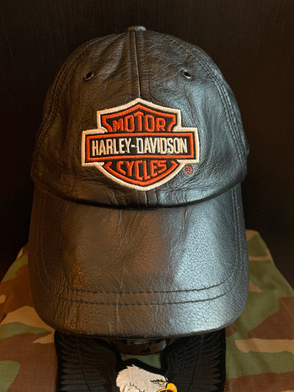 Worn In Leather Harley-Davidson Adjustable Hat