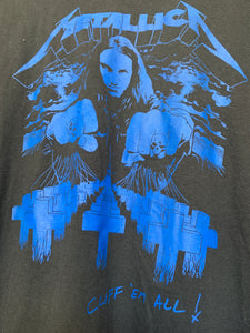"""Cliff Em All"" RIP Cliff Burton Tee"
