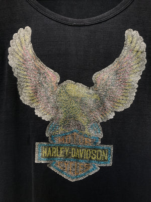 Vintage Harley Glitter Iron On Tee