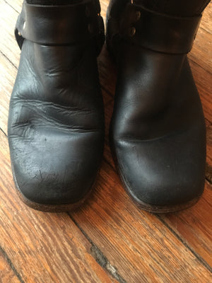 Men's Frye Short Harness Boots