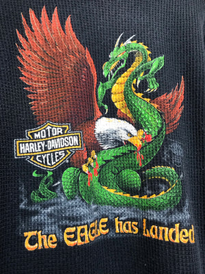 Vintage 1982 Harley Davidson Dragon Eagle Thermal