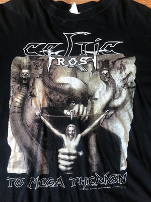 Vintage Celtic Frost To Mega Therion Tee