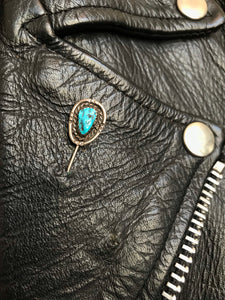 Vintage Turquoise Hat Pin